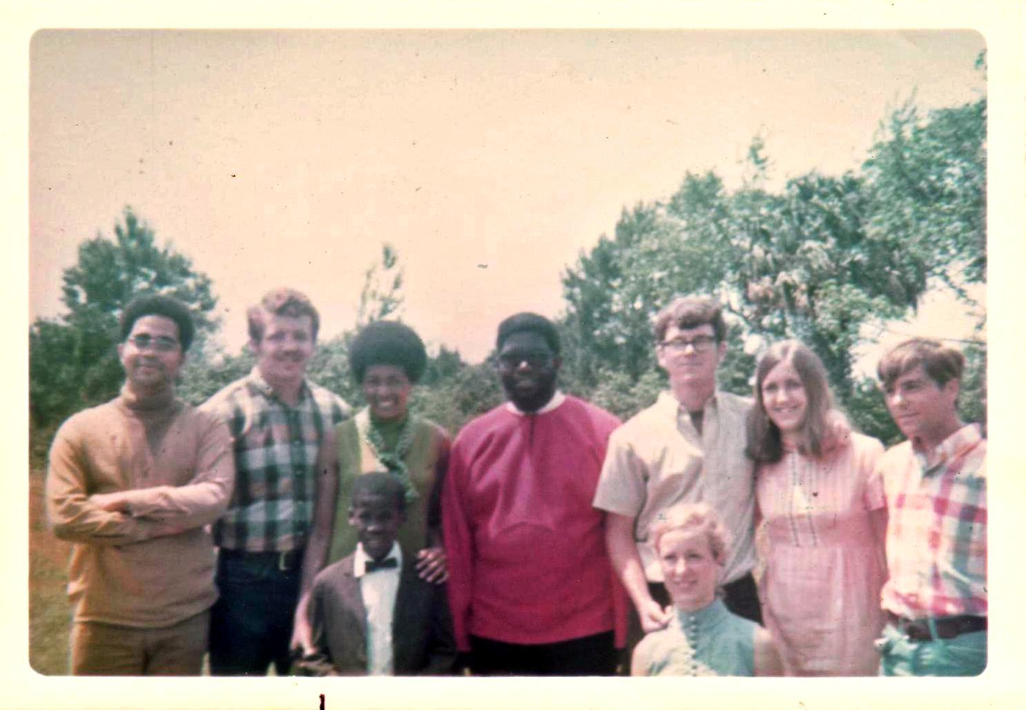The santa cruz seven with herman blake spring 1970 001 for Extra mural program